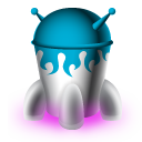 spaceship, rocket icon