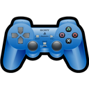 Blue, Playstation, Sony icon