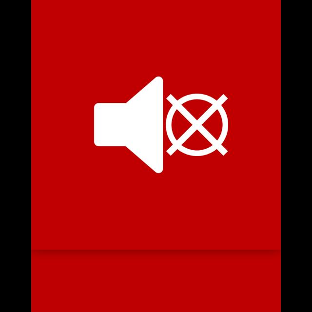 mirror, mute, volume icon