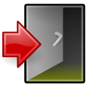 exit, xfce, system icon
