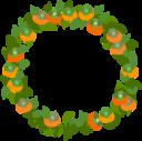 fruits wreath icon