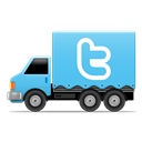 Social, Truck, Twi icon