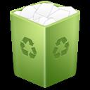 trash, recycle bin, full icon