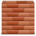 firewall, brick icon