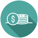 shopping, purchase, transaction, money, payment, coins icon