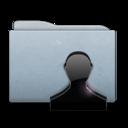 folder,graphite,user icon