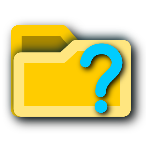 unknown, folder icon