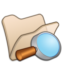 Folder beige explorer icon