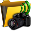 folder,camera icon