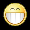 grin, face icon