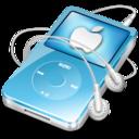 ipod video blue apple icon