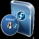 box,fedora,disc icon