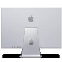 display, apple, back, cinema icon