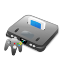 console, 64, game, n, ps, xbox, computer game, n64, nintendo icon
