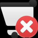 shopping, remove, cart icon
