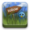 echofon, twitter, follow icon