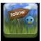 echofon, twitter, follow icon