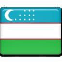 uzbekistan,flag,country icon