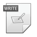 write,writing,edit icon