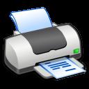 Hardware Printer Text icon