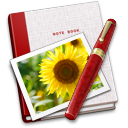 Book, Note, Photo icon