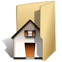 home, folder, house icon