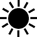 Summer, Sun, Weather icon