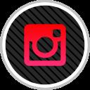 instagram, social, online, media icon