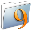folder, classic, graphite, smooth icon