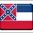 mississippi,flag icon