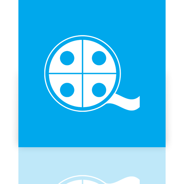 mirror, window, moviemaker icon