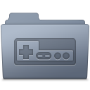 Folder, Game, Graphite icon