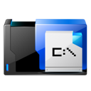 application, ms, dos icon