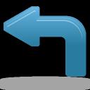 Arrow, Left, Turn icon