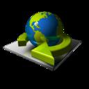 Earth Send icon