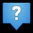 Status dialog question icon