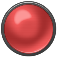 red on, button, red icon
