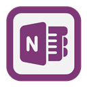 Note, One, Outline icon