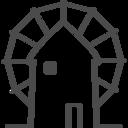 greece,windmill icon