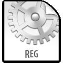z, file, reg icon