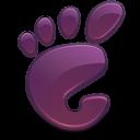 Here, Start, Violet icon