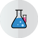 test-tube, lab icon