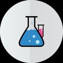 test-tube, lab icon