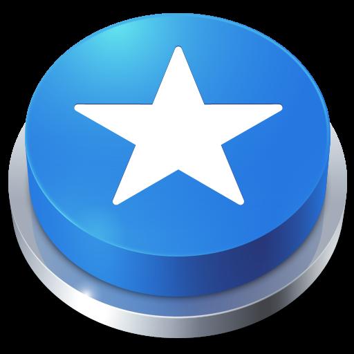button, perspective, favorite icon