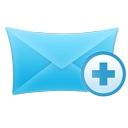 new, mail icon