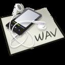 wav,audio icon