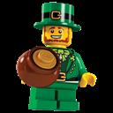 Lego, Leprechaun icon