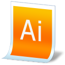 document adobe illustrator icon