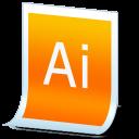 document adobe illustrator icon