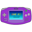 advance, purple, gameboy icon
